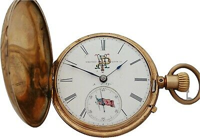 £2588.16 • Buy Antique Early Keyless 1828 Hunter Frederic Athertony Marion Gold Pocket Watch