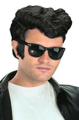 $11.86 • Buy 1950s Greaser Danny Grease Costume Wig