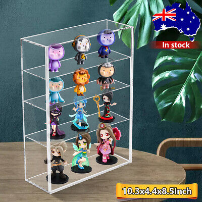 £16.39 • Buy 4 Tiers Clear Acrylic Box Display Case For Handmade Model Collection Displaying