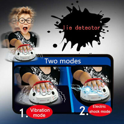 £11.98 • Buy Test Truth Dare Toys Polygraph Shocking Liar Micro Electric Lie Detector Games