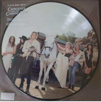 AU112.90 • Buy IN HAND!! Lana Del Rey - Chemtrails... Spotify Picture Disc LP