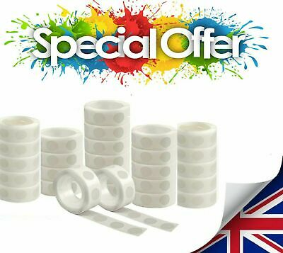 £2.99 • Buy 100 Adhesive Dots Tape Double Sided Glue Sticky  Sticker DIY Balloon Clear Décor