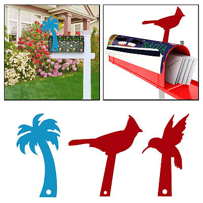 $8.95 • Buy Acrylic Plastic Mailbox Flag Painted Hardware Mailbox Replacement Flag