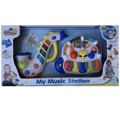 £18.14 • Buy Little Learner My Music Station 2 Piece Horn & Piano Kids Toys Learn New