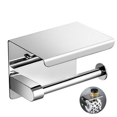 AU23 • Buy 2 In 1 304 Stainless Steel Toilet Paper Roll Holder With Phone Shelf Stand
