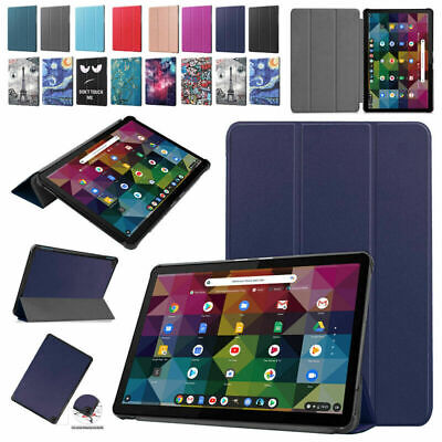 AU19.99 • Buy For Lenovo Chromebook Duet 10.1  Tablet Smart Magnetic Leather Stand Case Cover