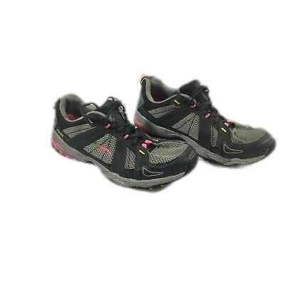 $ CDN32.04 • Buy Avia Womens Gray Lace Up Sneakers WMAI4300012 Low Top Athletic Shoes Size 9