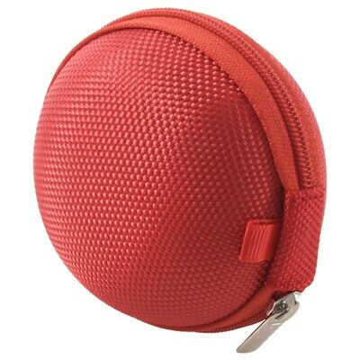 £1.97 • Buy Carrying Hard Case Bag For Earphone Headphone IPod MP3 Red R2R7