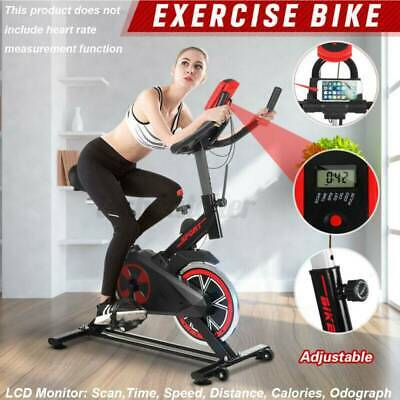 £98.99 • Buy Spin Excercise Bike Fitness Cardio Training Gym Home Sports Fat Burn Pro