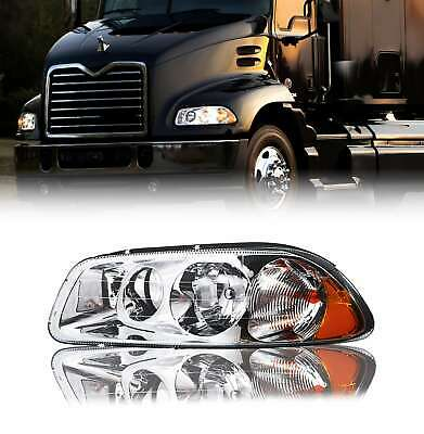 $101.08 • Buy Mack Vision 2007-2011 Left Driver Side Clear Lens Headlight With All Bulbs