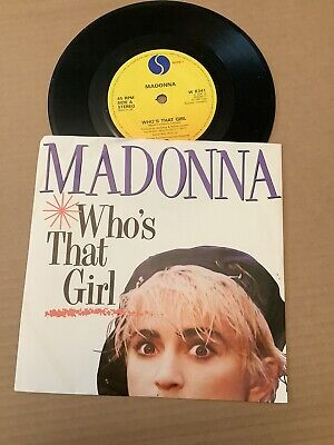 £3.50 • Buy Madonna. Who's That Girl / White Heat