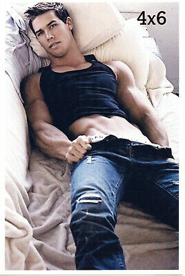 $ CDN11.96 • Buy KRIS EVANS Removing Jeans Hard Muscular Stomach Muscles Gay Interest 4x6 Photo
