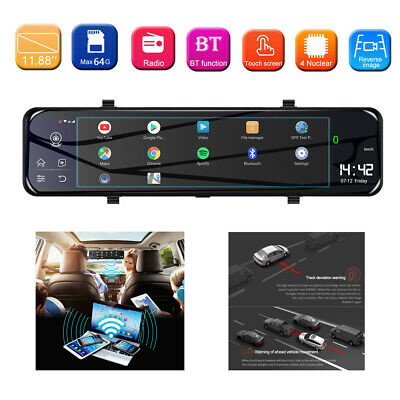 AU228.75 • Buy 1080P WIFI GPS Dash Cam 4G Dual Lens Camera Driving Recorder With 64GB TF Cards