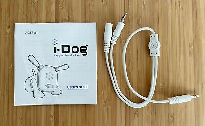 £5 • Buy I-Dog 2005 Hasbro Sega Toys Tiger Electronics (CABLE & USER GUIDE ONLY)