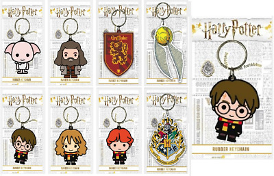 £2.69 • Buy Official Harry Potter Character Figure Keyring/ Keychain Gift Collectible Chibi