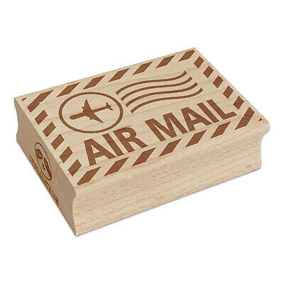 $8.99 • Buy Air Mail Postmark Rectangle Rubber Stamp For Stamping Crafting