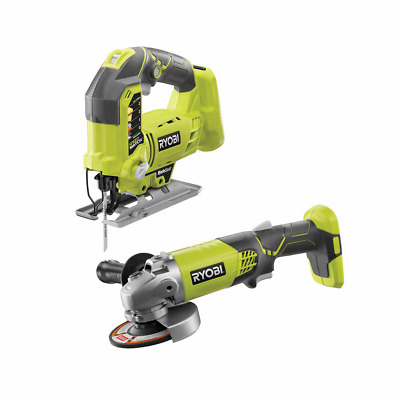 £94.27 • Buy RYOBI Jigsaw Angle Grinder 18V Lithium-Ion Cordless Variable Speed (Tools Only)