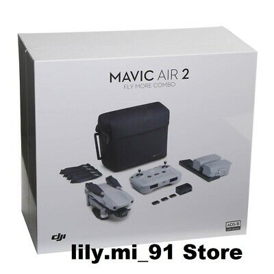 AU1357.43 • Buy NEW DJI MAVIC Air 2 Fly More Combo 4K Drone Camera Quadcopter Foldable SEALED