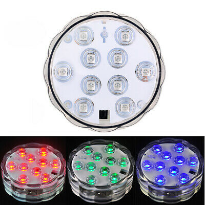 £5.59 • Buy Control RGB Color Changing Underwater Pond Mood LED Lights Lay Z Spa W21