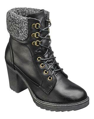 £35 • Buy London Rebel Lace Up Boots Wide E Fit - UK4