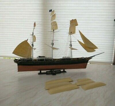 £12 • Buy Cutty Sark Plastic Model Ship. A Sailing Ship From The Past.in Need Of Repair