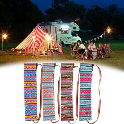 AU6.75 • Buy Outdoor Camping Storage Bag Canopy Pole Tent Pole Fishing Rod Finishing Hand  CF