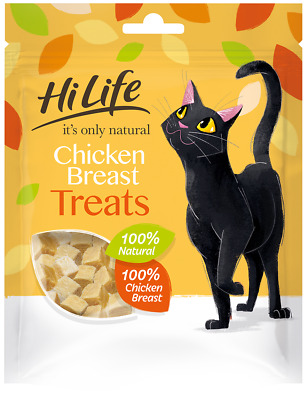 £4.13 • Buy Hilife It's Only Natural Chicken Cat Treats - 30g