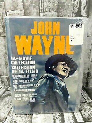 $33.43 • Buy JOHN WAYNE 14-movie DVD Collection Of The Duke's Greatest Movies NEW Ships Free