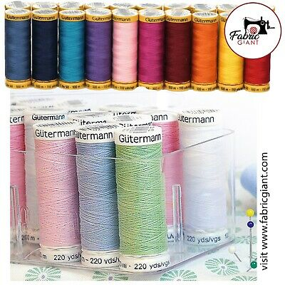 £1.89 • Buy Gutermann Sew-All Thread 100m Reel 100% Polyester Machine + Hand Sewing