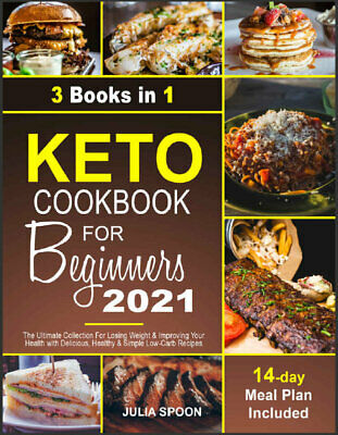 $2.22 • Buy Keto Cookbook For Beginners 2021  The Ultimate Collection For Losing