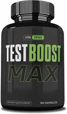 $31.99 • Buy Testboost Max Supplement For Men, Test Boost Max Pills, 90 Capsules