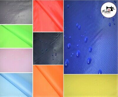 £3.85 • Buy Waterproof 3.8oz Rip Stop Ripstop Fabric Kite Nylon Material Cover - 15 Colours