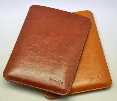 £6.49 • Buy Classic Leather Sleeve Case For Amazon Kindle 6'' E-reader
