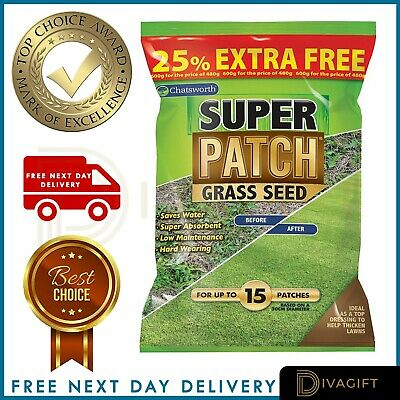 £6.99 • Buy Fast Growing Lawn Grass Seed | RAPID QUICK GROWTH | NEW LAWNS OR PATCH & REPAIR