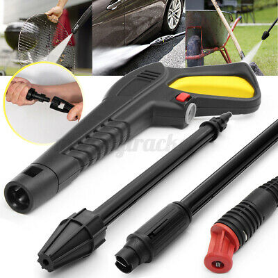 £8.99 • Buy High Pressure Washer Trigger Gun Variable Angled Turbo Lance ForVAX LAVOR BS