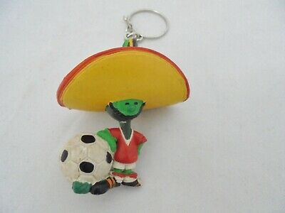 £9.99 • Buy Mexico 1986 World Cup Pique Mascot Keyring Sport Billy