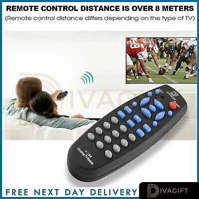 £4.99 • Buy Universal Remote TV Control For All Devices Perfect Replacement Controller HD
