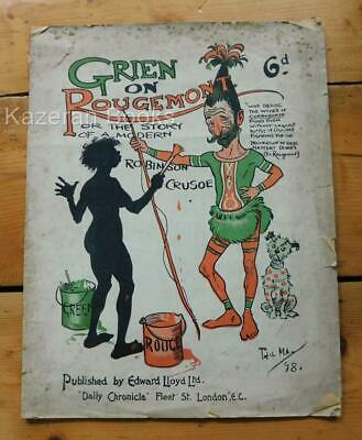 £219.99 • Buy Antique Victorian Publication Grien On Rougemont Story Of Modern Robinson Crusoe