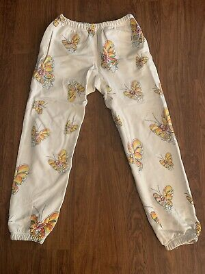 $ CDN270 • Buy Rare Sold Out Supreme Gonz Butterfly  Sweat Pants Medium M Used Ss16