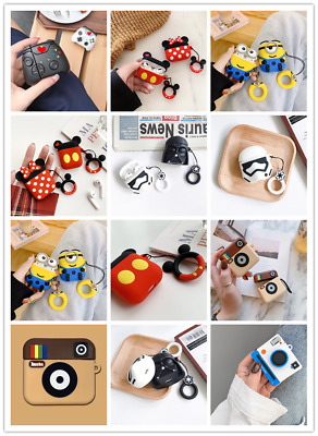 AU9.89 • Buy For AirPod 3 Pro Cute 3D Cartoon AirPods Soft Silicone Case Protective Cover AU