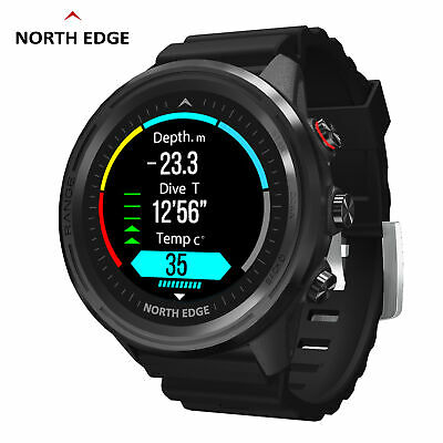 AU165.53 • Buy NORTH EDGE Mens Smart Watch Fitness Touch Compass Smartwatch Heart Rate Monitor!
