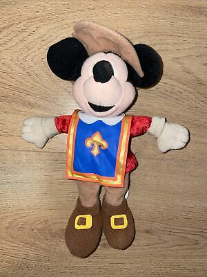 £3 • Buy Disney Mickey Mouse Three Musketeers Bean Bag Promotional Plush Soft Toy 9