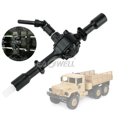 $13.67 • Buy Military Truck CrawlerAxle Replace Parts Front Rear Bridge For WPL 1/16 RC Car