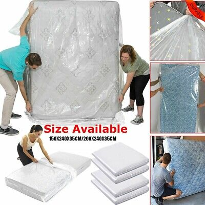 AU15.99 • Buy Single Double Bed Mattress Bag Dust Protector  Storage Covers