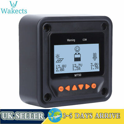 £28.99 • Buy MT50 LCD Remote Meter MPPT Solar Charge Controller Solar Charging Accessories