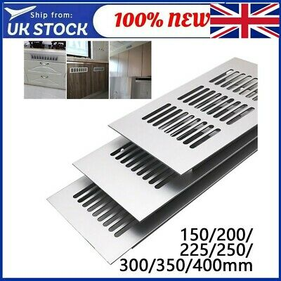 £6.30 • Buy Stainless Steel Louvre Air Vent Grille Cover Metal Duct Ventilation Flat Circle