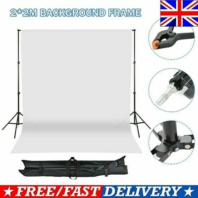 £19.99 • Buy Photo Backdrop Support Stand KIT Studio Background White Non-woven Screen W/Bag