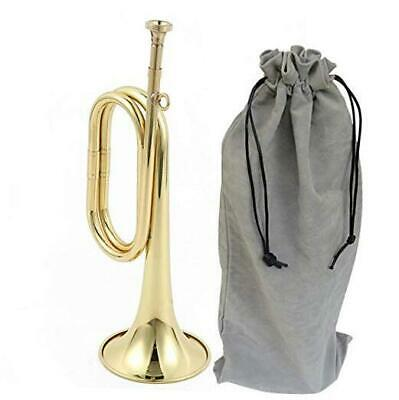 $56.80 • Buy  Trumpet Brass Cavalry For Professional Cavalry Bugle Military Gold-02