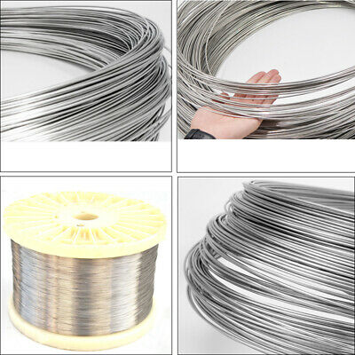 £1.19 • Buy 304 Stainless Steel Wire Diameter 0.2mm-3mm Soft Steel Wire/hard Steel Wire