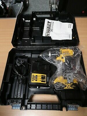 £114.99 • Buy Dewalt Dcd785 With 1 5.0ah 18v Battery And Charger - Case